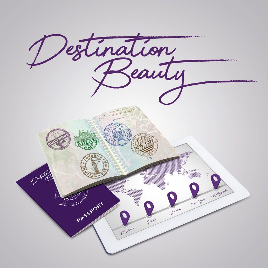 "Destination Beauty<br><h3 class=""subt"">Tour di formazione</h3> 